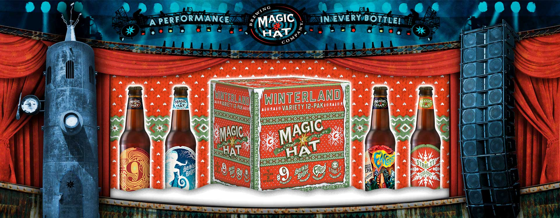 Magic Hat Variety Pack on a Climax Machine