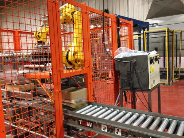 Climax Robotic Case Packer
